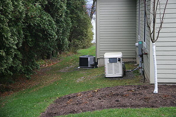Air conditioner units should be serviced in the spring.