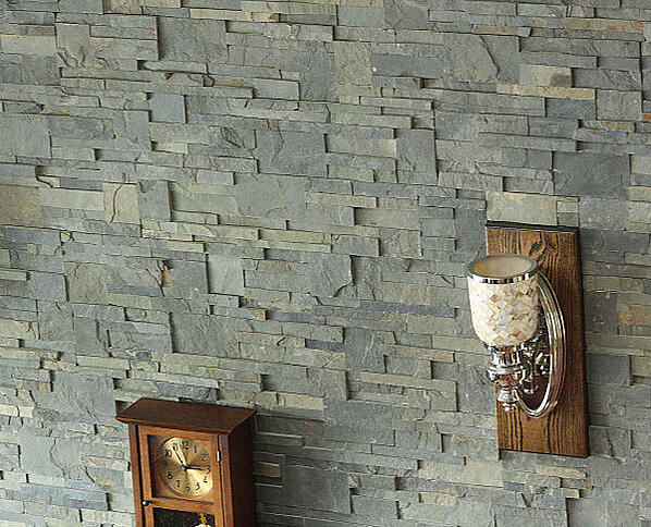 ledgestone veneer panel closeup