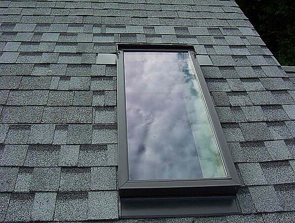 Check skylights for winter damage