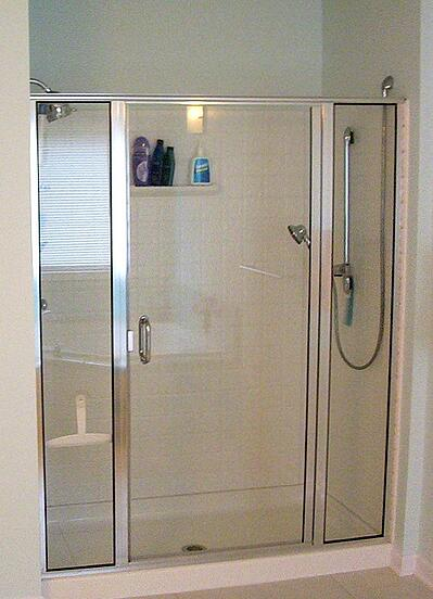 Standard Full Height Shower Base Threshold