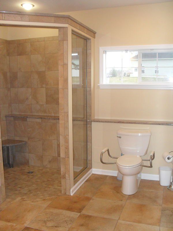 Bathroom Walk In Shower Remodeling Syracuse Cny