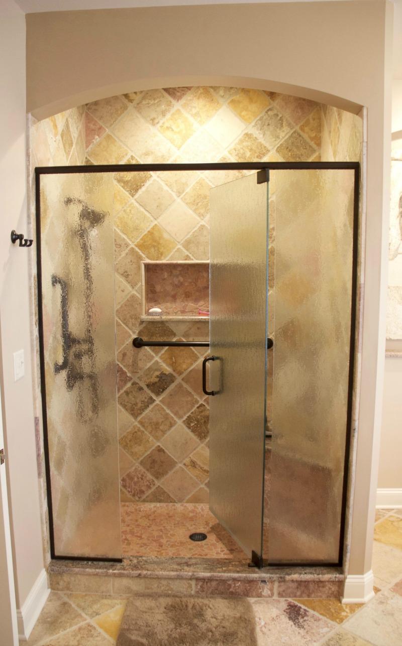 Glass shower enclosure design ideas photos and descriptions - Walk in glass shower enclosures ...