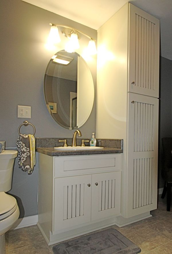 Bathroom Vanity With Closet Design Ideas