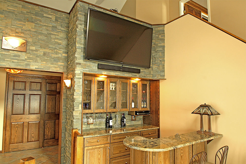 Built in storage and cabinet design ideas photos and - Built in bar cabinets ...