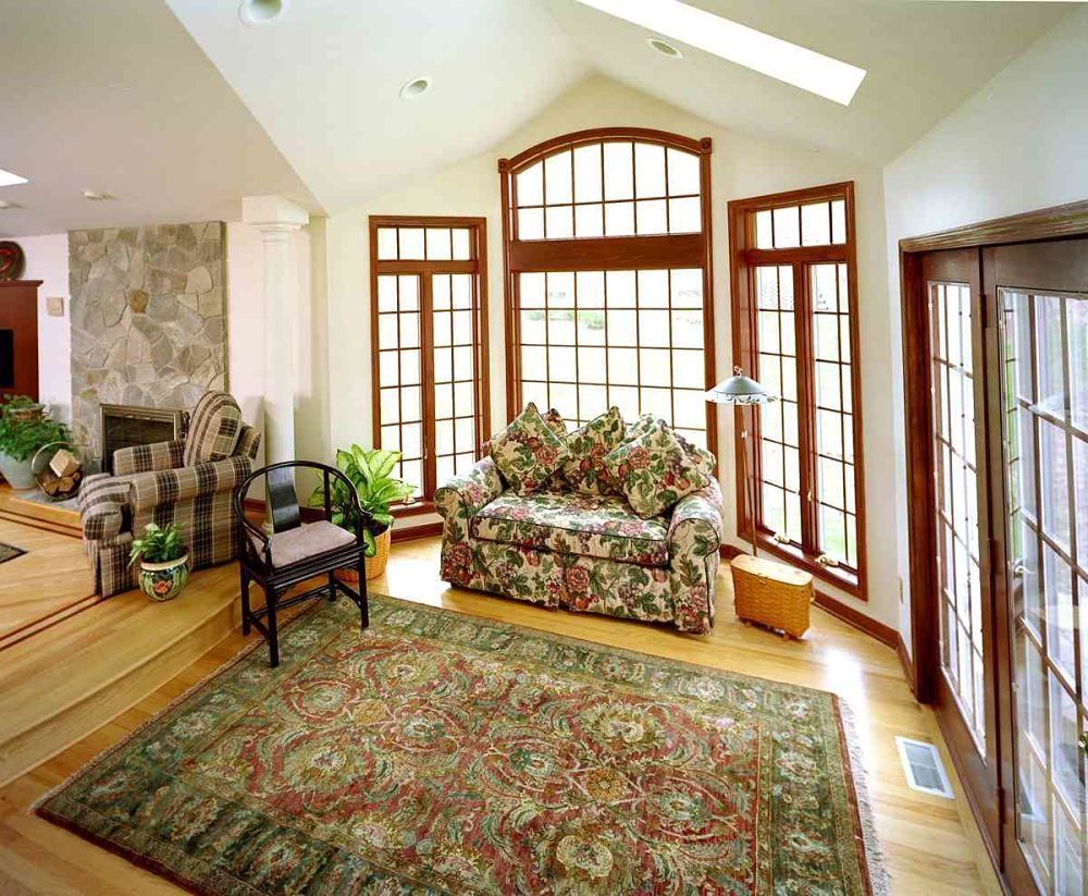 home addition designs. The step down to this living room addition extension adds a new dimension  the Home Addition Contractors Construction Syracuse CNY