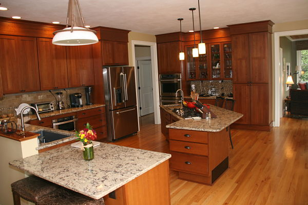 View Of The Kitchen. The Variation Of Counter Height Is Intentional And  Subtle. Toe