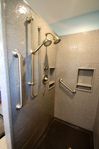 Attractive Stone Finish Shower Wall Panels